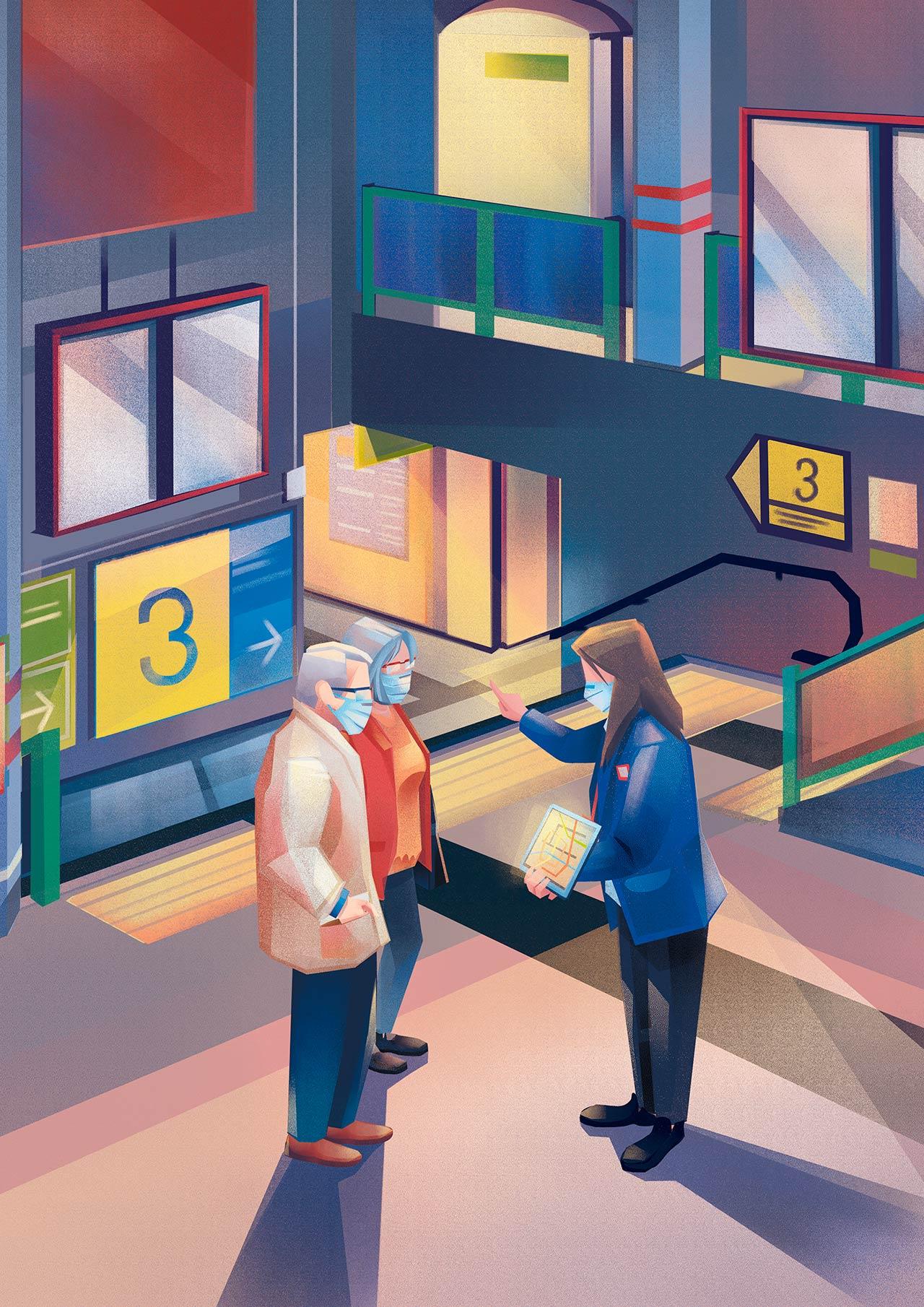METRO 6. Metro y las personas mayores
